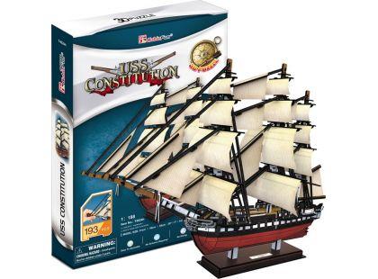 CubicFun Puzzle 3D USS Constitution