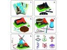 CubicFun Puzzle 3D Větrný mlýn 71 dílků 2