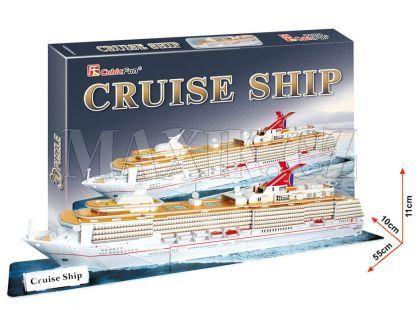 CubicFun Puzzle 3D Výletní loď 86 dílků