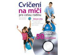 Cvičení na míči pro celou rodinu s DVD