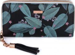 Dámská peněženka velká Dark leaves