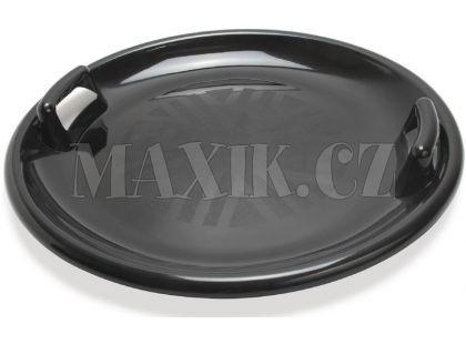 Dantoy Zábavný talíř na sníh s držadly - průměr 63 cm - Černá