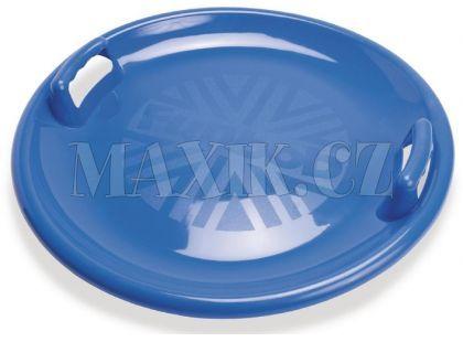 Dantoy Zábavný talíř na sníh s držadly - průměr 63 cm - Modrá