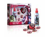 Dárková sada Avengers Body spray 100ml s raketometem a disky