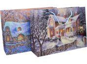 Dárková taška 40 x 30 x 12 cm Vánoce