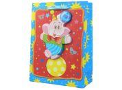 Dárková taška Zvířátka baby lesk - Slon