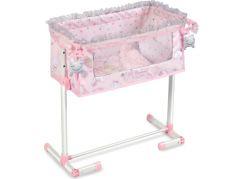 DeCuevas 51234 Novorozenecká postýlka pro panenky s funkcí společného spaní Magic Maria 2020