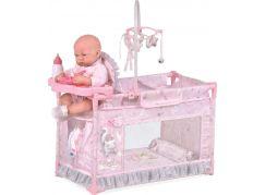DeCuevas 53134 Moje první postýlka pro panenky s doplňky Magic Maria 2020