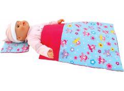 Deka a polštář pro panenky Deluxe