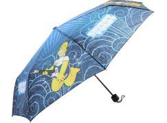 Deštník Simpsonovi skládací modrý