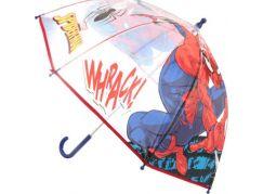 Deštník Spidermann průhledný manuální