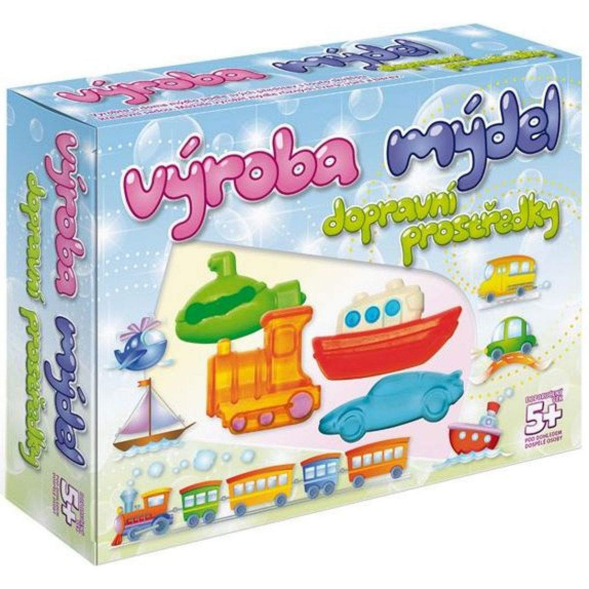 DetiArt Výroba mýdel - Transport
