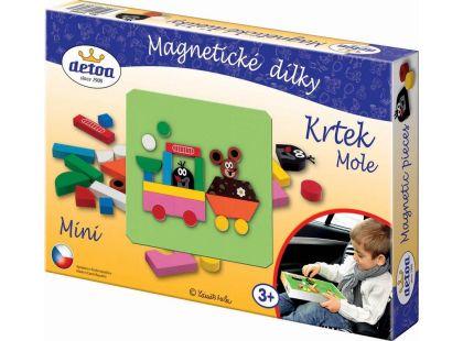 Detoa Magnetické dílky Krtek mini