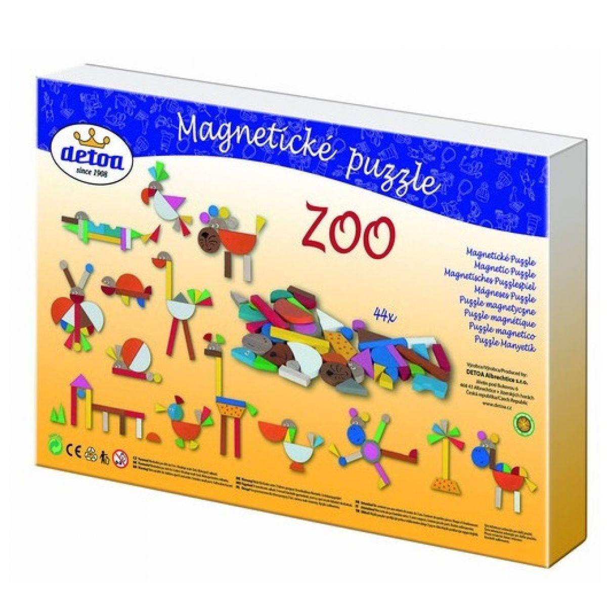 Detoa Magnetické puzzle ZOO #5