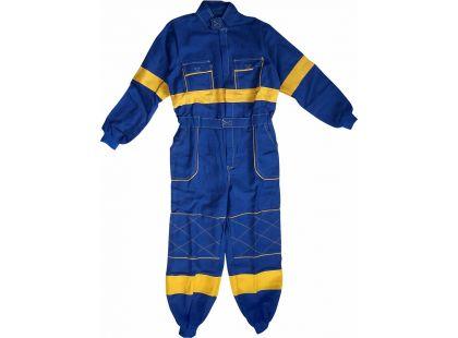 Dětská montérková kombinéza vel. 120 - Modrá