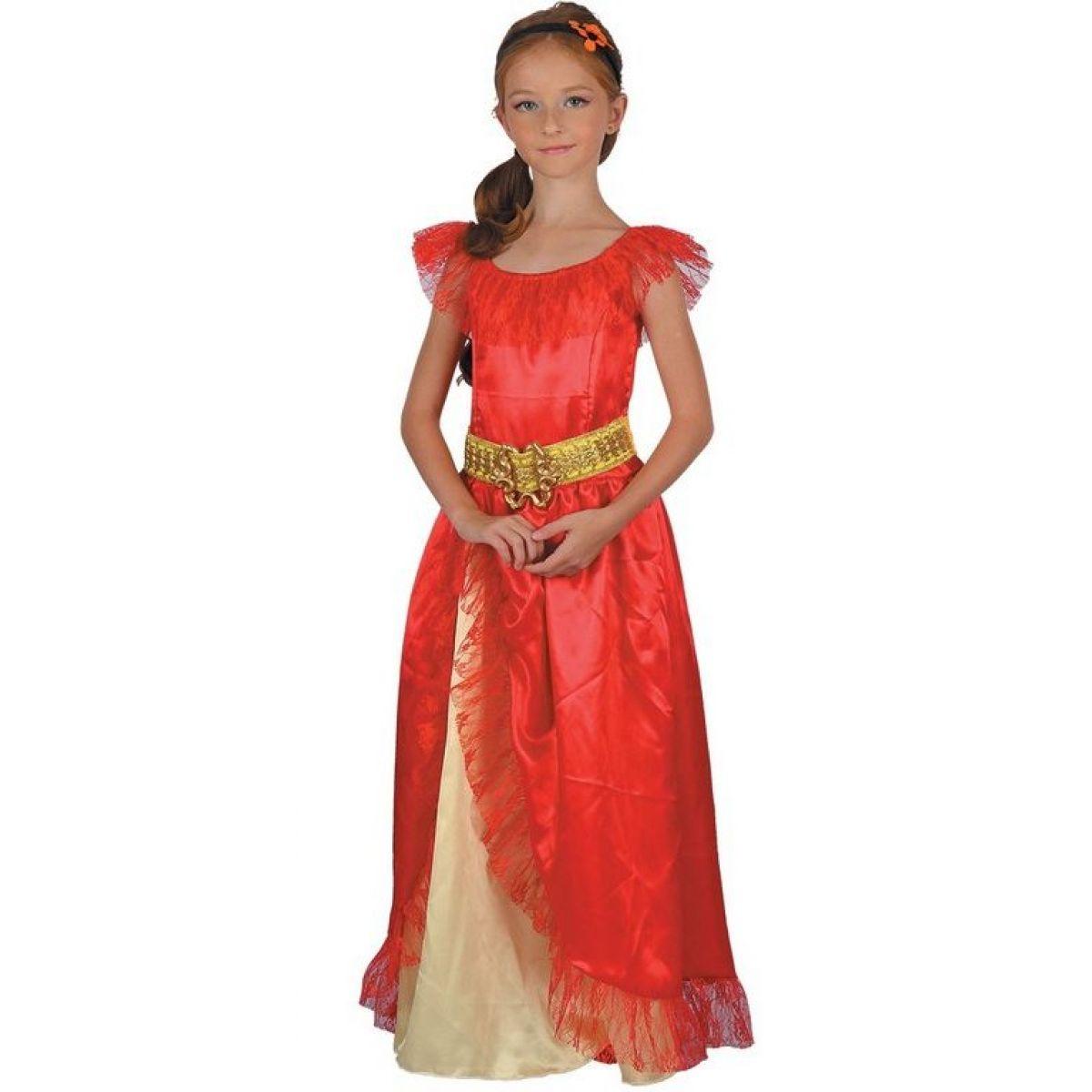 Dětské šaty na karneval princezna 120-130 cm