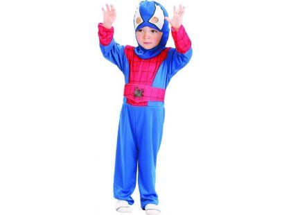 Dětský karnevalový kostým Pavoučí hrdina 92-104 cm