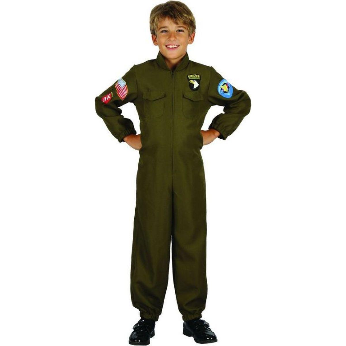 Dětský karnevalový kostým Pilot 110-120 cm