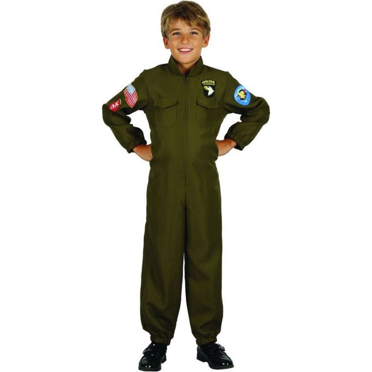 Dětský karnevalový kostým Pilot 120-130 cm