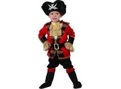 Dětský karnevalový kostým Pirát 92-104 cm