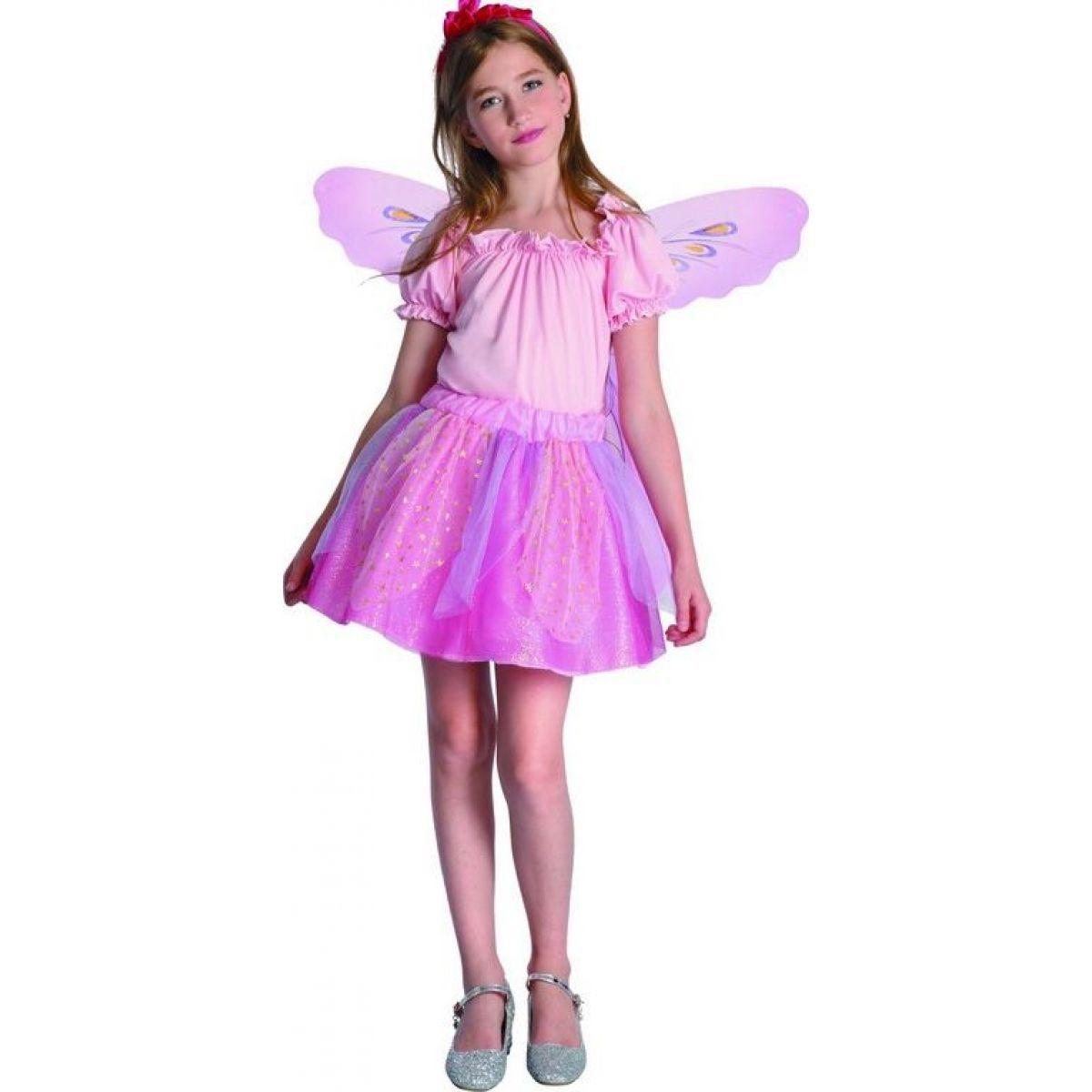 Dětský karnevalový kostým Víla 120-130 cm
