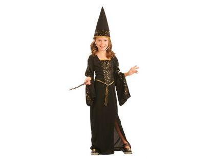 Dětský kostým Čarodějka 5-9 let