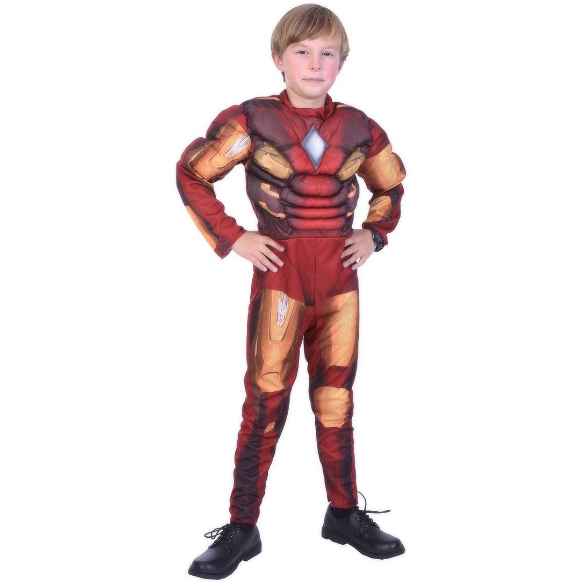 Dětský kostým na karneval Ironman 130 - 140 cm