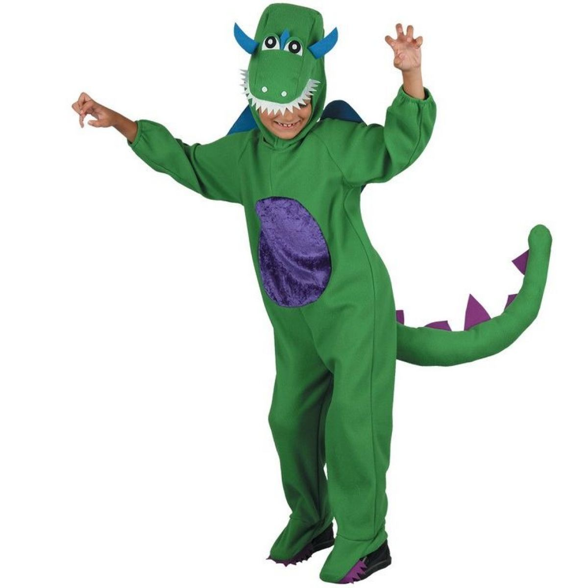 Dětský kostým na karneval Dinosaurus 120 - 130 cm
