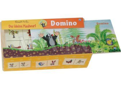 Dřevěné domino Krtek
