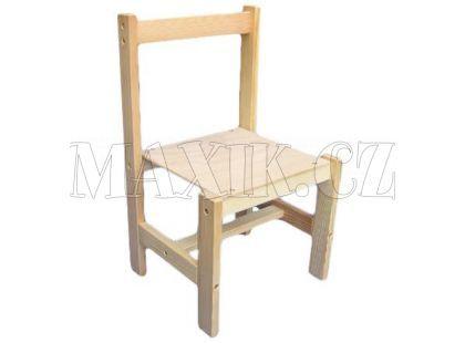 Dřevěné hračky Jaroš Dřevěná židlička