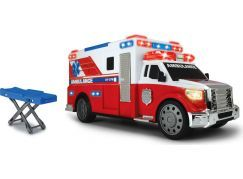 Dickie Action Series Ambulance 33cm - Poškozený obal