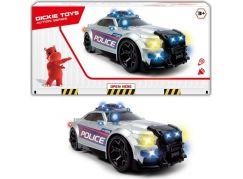 Dickie Action Series Policejní auto Street Force 33 cm zvukové efekty