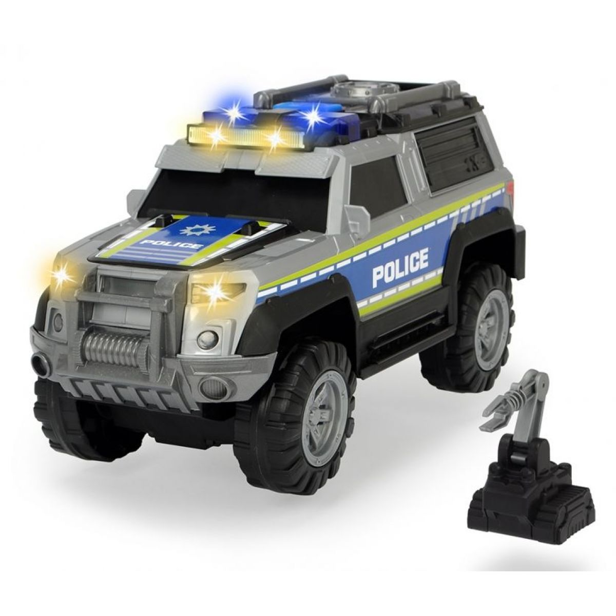 Dickie Action Series Policie Auto 30cm