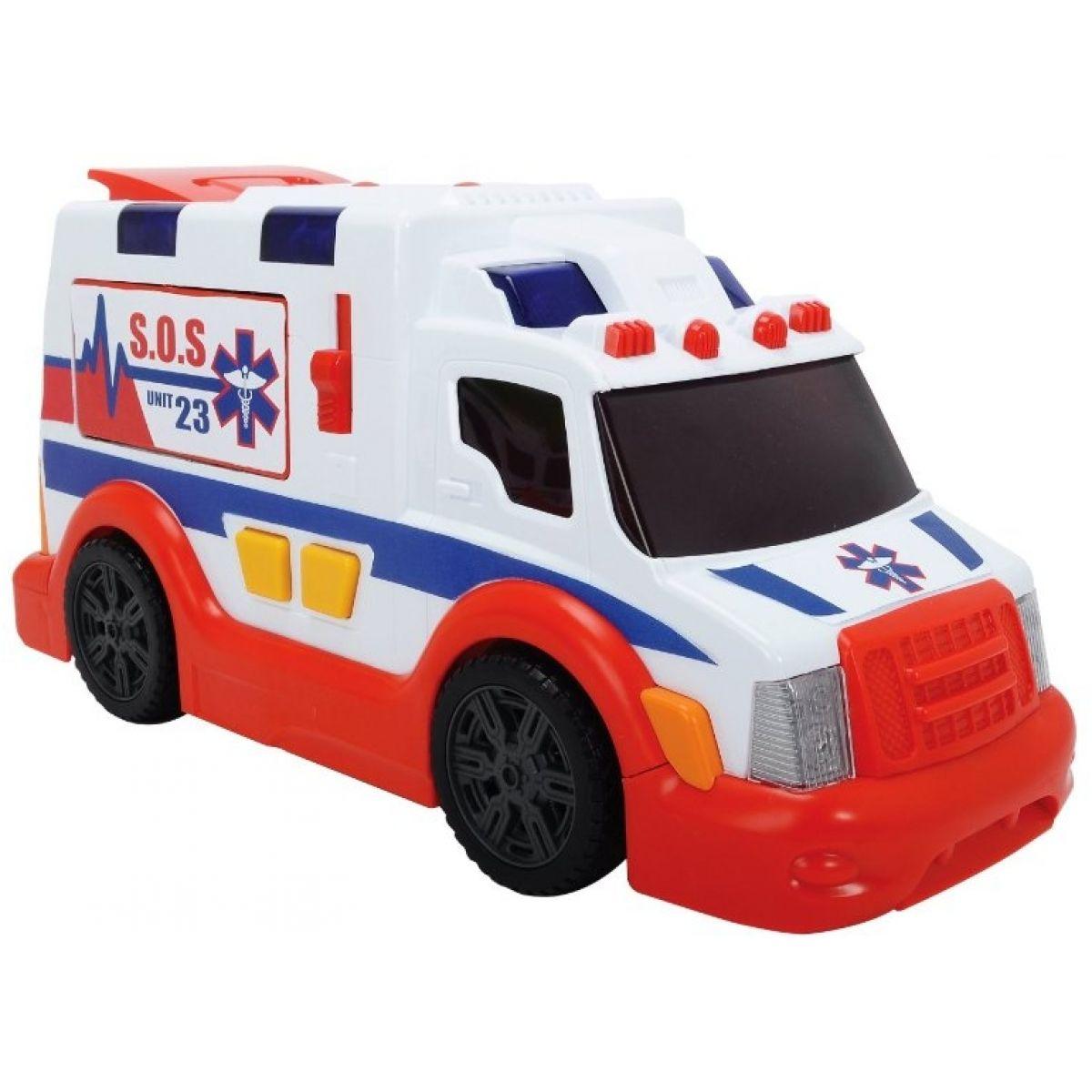 Dickie Ambulance se světly a zvuky 33cm