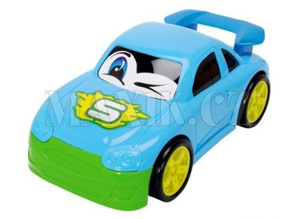 Dickie Auto Happy Runner 27 cm - Sportovní modré