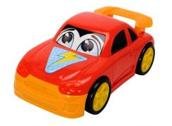 Dickie Auto Happy Runner 27 cm - Sportovní červené