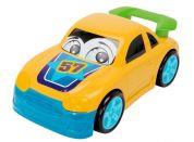 Dickie Auto Happy Runner 27 cm - Sportovní žluté