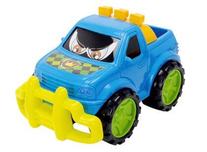 Dickie Auto Happy Runner 27 cm - Terénní modré