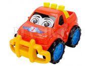 Dickie Auto Happy Runner 27 cm - Terénní červené