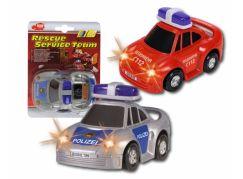 Dickie Auto hasiči a police na baterie