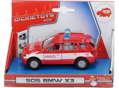 Dickie Auto kovové česká verze - Hasiči