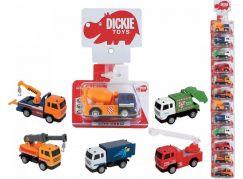 Dickie Auto kovové City Crew