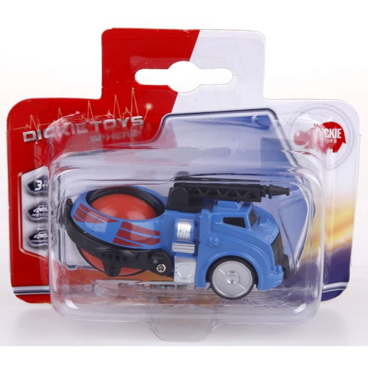 Dickie Auto kovové Sphere modro červené