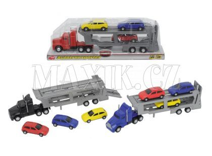 Dickie Auto transportér 32cm + 3 auta