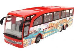 Dickie Autobus Touring Bus 30 cm červený