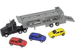 Dickie Autotransportér + 3 autíčka - Černý