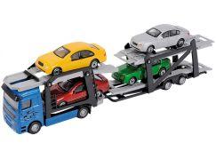 Dickie Autotransportér a 4 autíčka modrý
