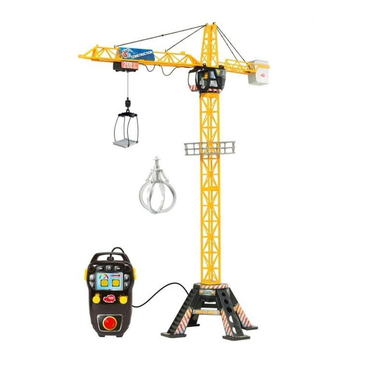 Dickie Jeřáb Mega Crane na kabel 120 cm