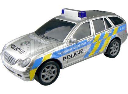 Dickie Policejní auto 1:18 - Mercedes