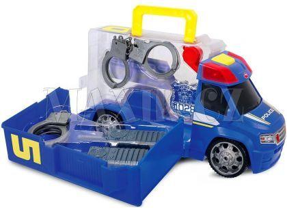 Dickie Policejní auto s příslušenstvím